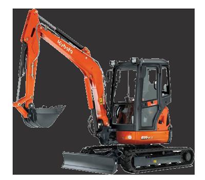 3.5 tonne excavator hire Gympie
