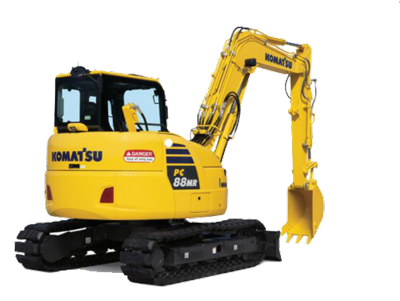 8 tonne Excavator Hire Maryborough