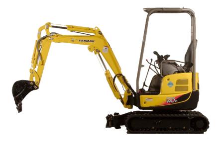 1.7 tonne Mini excavator Hire Bundaberg